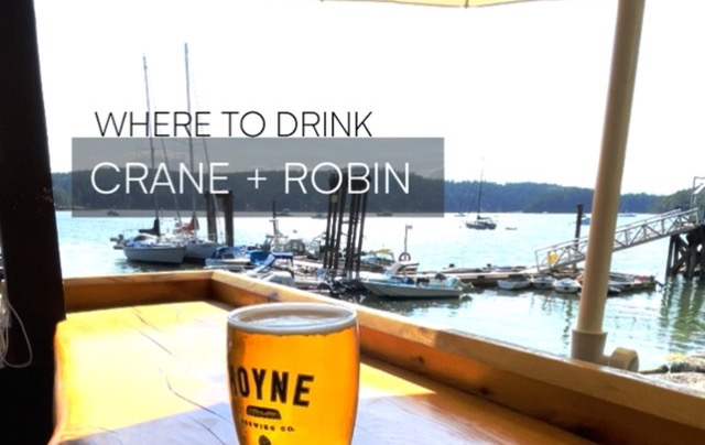 Galiano Island – Crane and Robin
