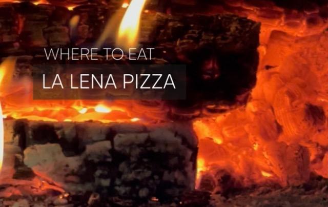 Galiano Island – La Lena Pizza