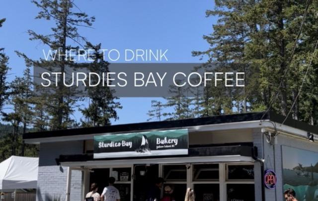 Galiano Island – Sturdies Bay Coffee
